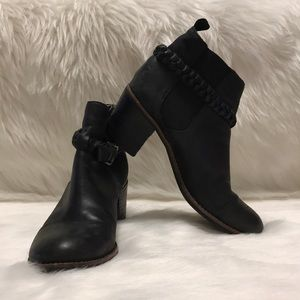 Sperry Top-Sider Leather Ankle Boot Booties